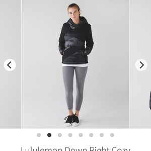 Lululemon Down Right Cozy Pullover Black 8